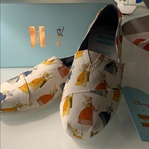 Disney Fairy Godmother Printed Canvas Toms